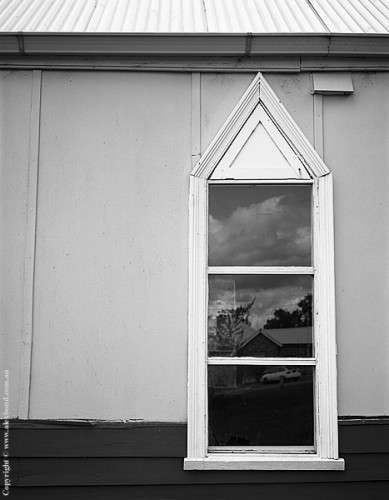 Church window Mount Barker Australia