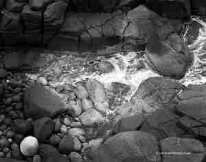 Granite coastline Albany region