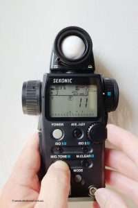 Sekonic L758D and Zone System